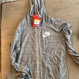 Nike hooded long sleeve
